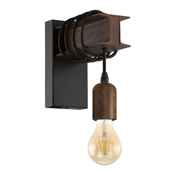 Roebuck Wall Light - Steel Girder Industrial Feature Wall Light