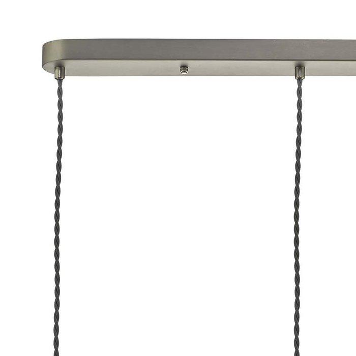 Frances - Vintage Brass & Antique Chrome Bar Pendant