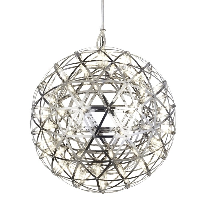 Firework -  Contemporary Chrome LED Sphere Feature Light
