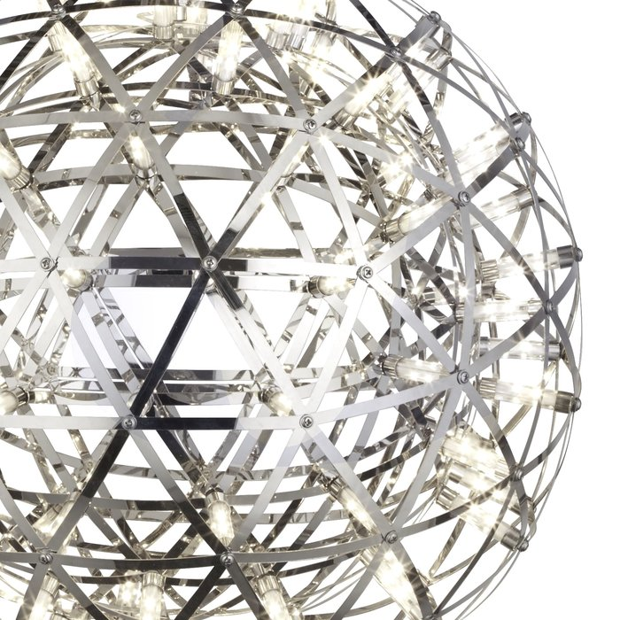 Firework -  Contemporary Chrome LED Sphere Feature Light - Large