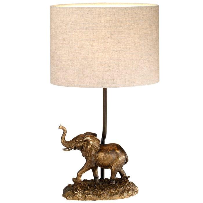 Babar - Bronze Patina Elephant Table Lamp