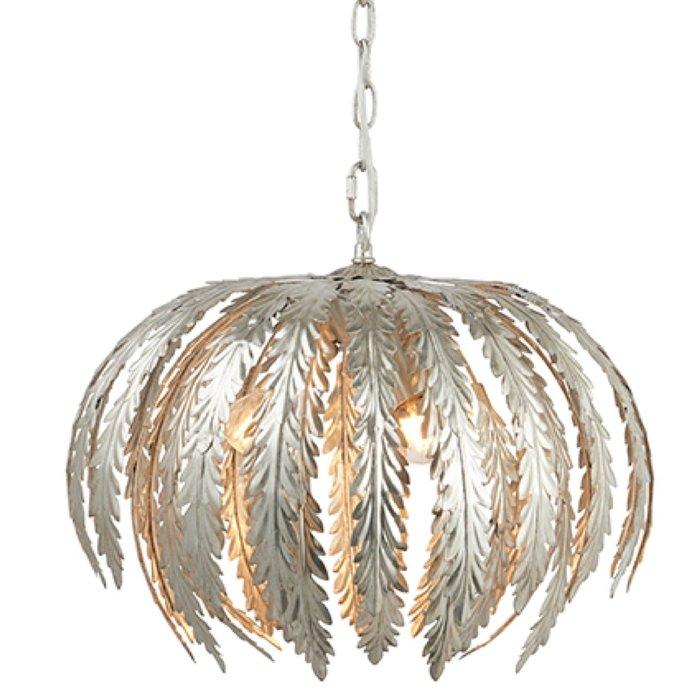 Flora - Silver Leaf Ceiling Light