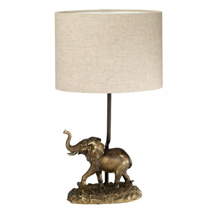 Babar - Bronze Patina Young Elephant Table Lamp