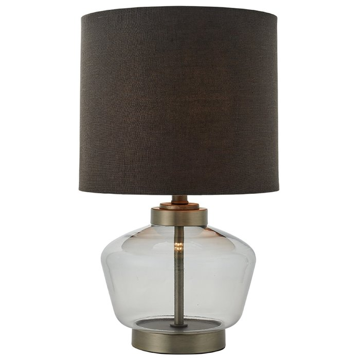 Kiki - Grey tinted Glass Table Lamp
