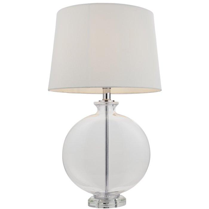 Wainwright - Clear Glass Vase Designer Table Lamp