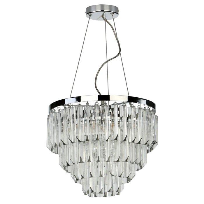 Prism - Modern Art Deco Tiered Crystal Chandelier