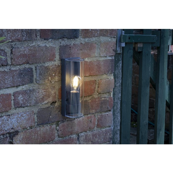 Anthracite  - Black Industrial Outdoor Wall Light - IP65