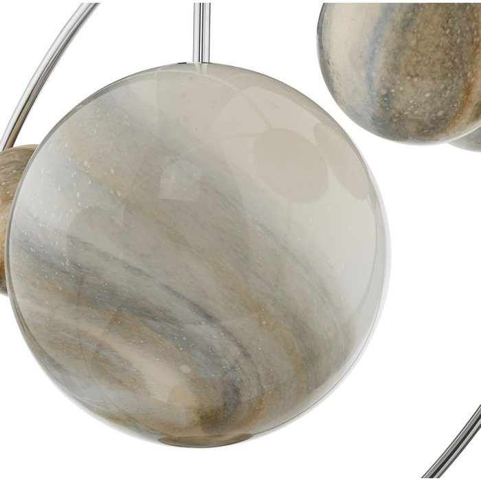 Marble  - Art Glass Sphere Feature Light