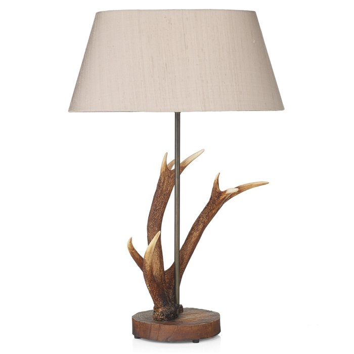 Rustic Antler Table Lamp - David Hunt
