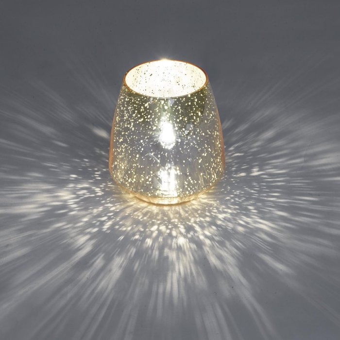 Speckle - Mirrored Copper Table Lamp