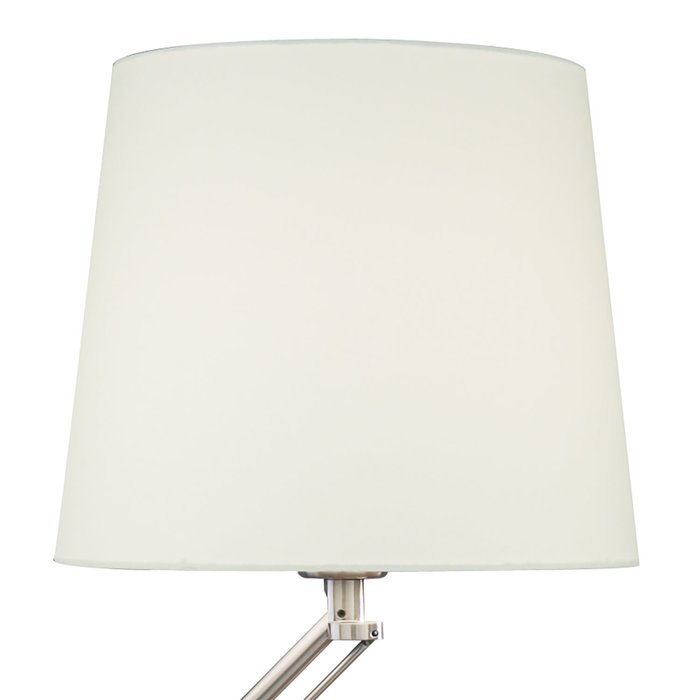 Rocker - Adjustable Modern Desk Lamp - Satin Chrome