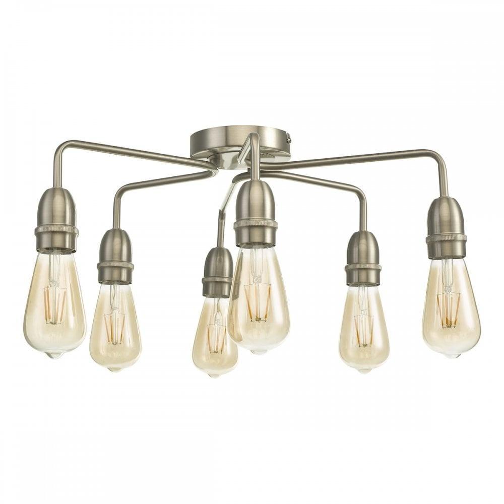 https www lightboxshop co uk kiefer 6 light flush satin chrome kie0646 html