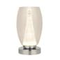 Tornado - Modern LED Clear Glass Table Lamp