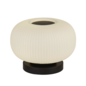 Andor - Scandi Frosted Ribbed Glass Table Lamp