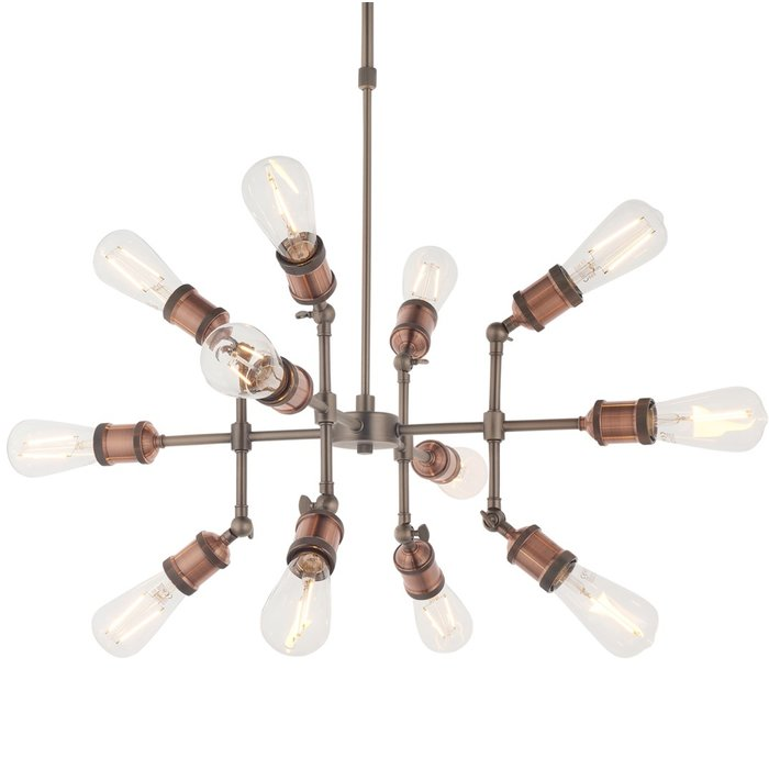 Vintage - Industrial Sputnik Multi- Light Feature Light