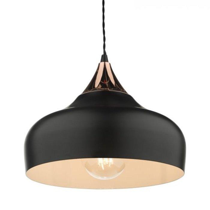 Stellan - Black & Copper Pendant Light