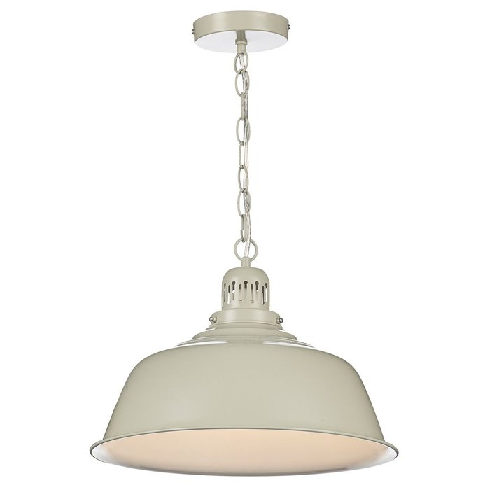Juni - Putty Coloured Shaker Pendant Light