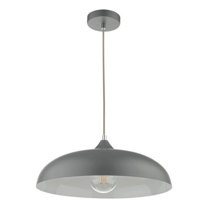 Kayleb - Graphite Grey Dome Pendant Light