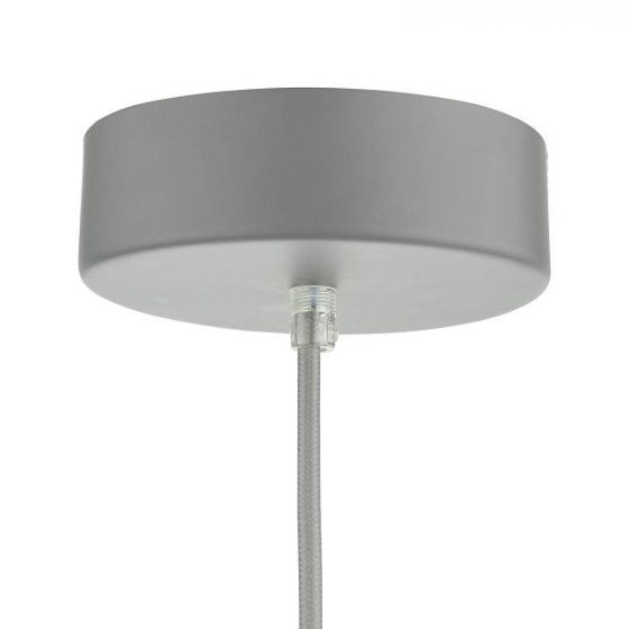 Enzo - Super Sleek LED Modern Scandi Pendant - Matte Grey