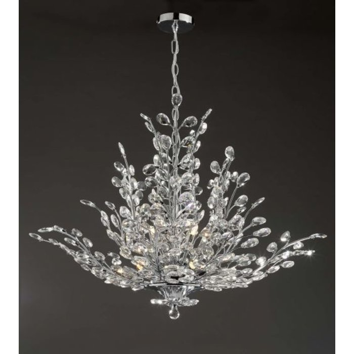 Blossom - Crystal Organic Tree Feature Chandelier