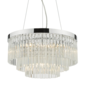 Giovanni - Tiered Crystal Art Deco Feature Pendant Light