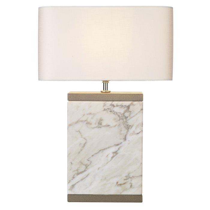 Inca Marble Table Lamp - David Hunt