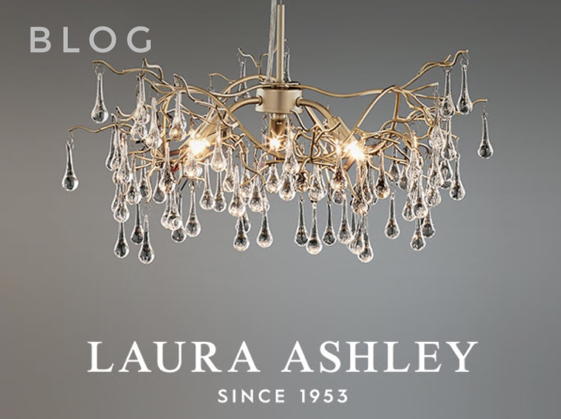 Laura Ashley Lighting now available at Lightbox