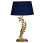 Archer - Leaf Table Lamp with Navy Shade - Laura Ashley