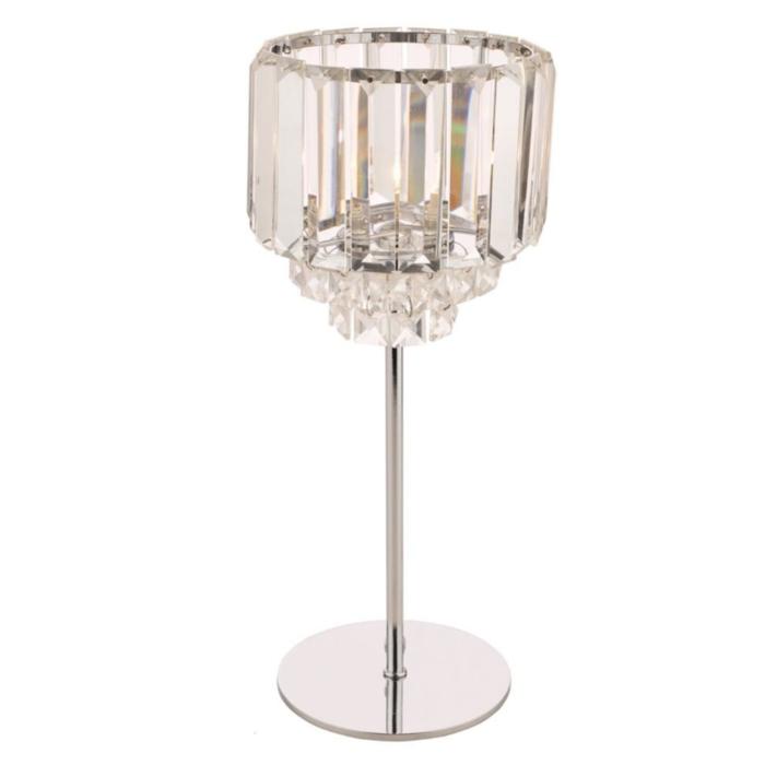 Vienna - Art Deco Crystal Table Lamp - Laura Ashley