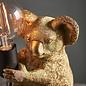 Noah - Vintage Gold Koala Bear Table Lamp
