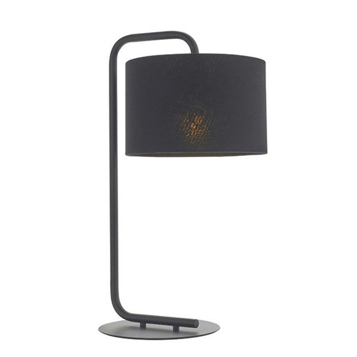 Runswick - Minimalist Table Light with Black Shade - Black