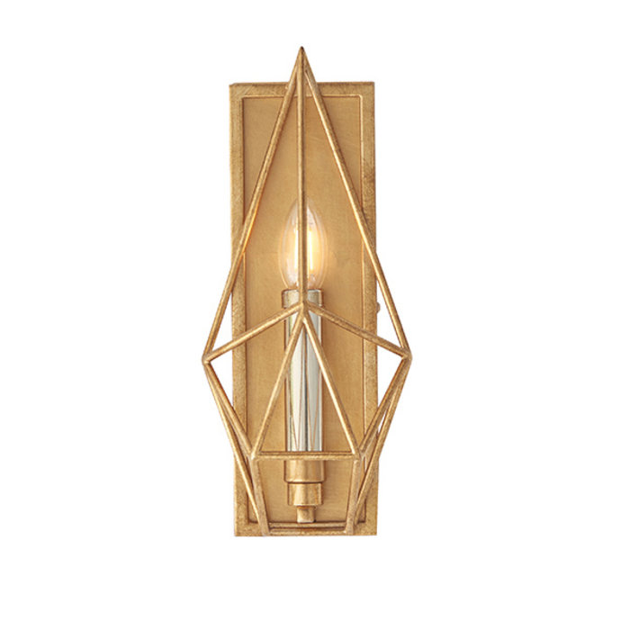 Ramshill - Gold Leaf Cage Wall Light