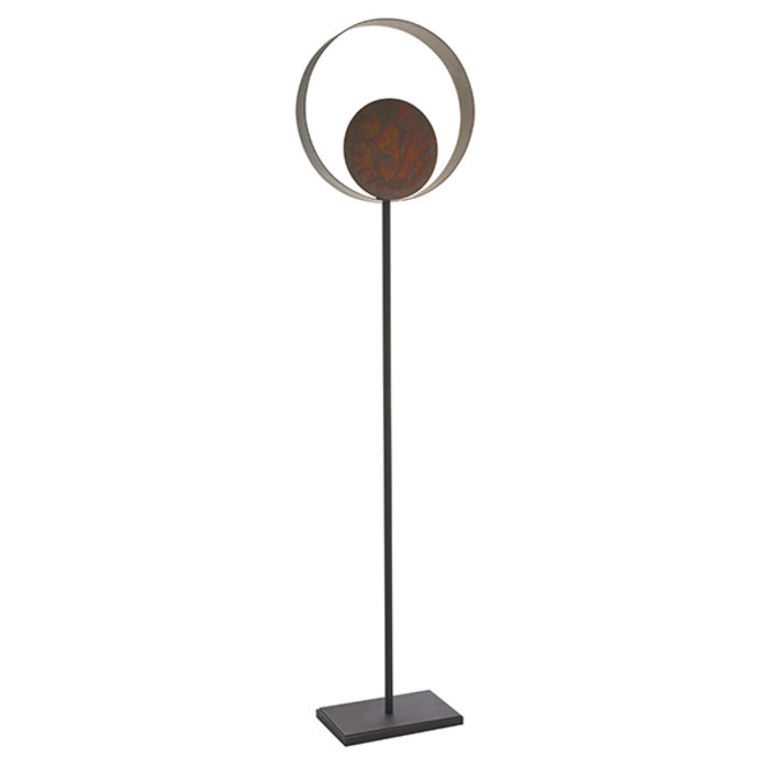 Ripon - Bronze Patina Floor Lamp