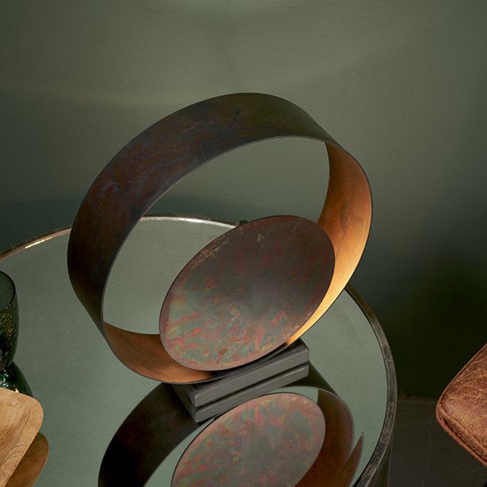 Ripon - Bronze Patina Diffuser Table Lamp