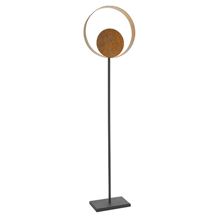 Ripon - Dappled Copper & Bronze Floor Light