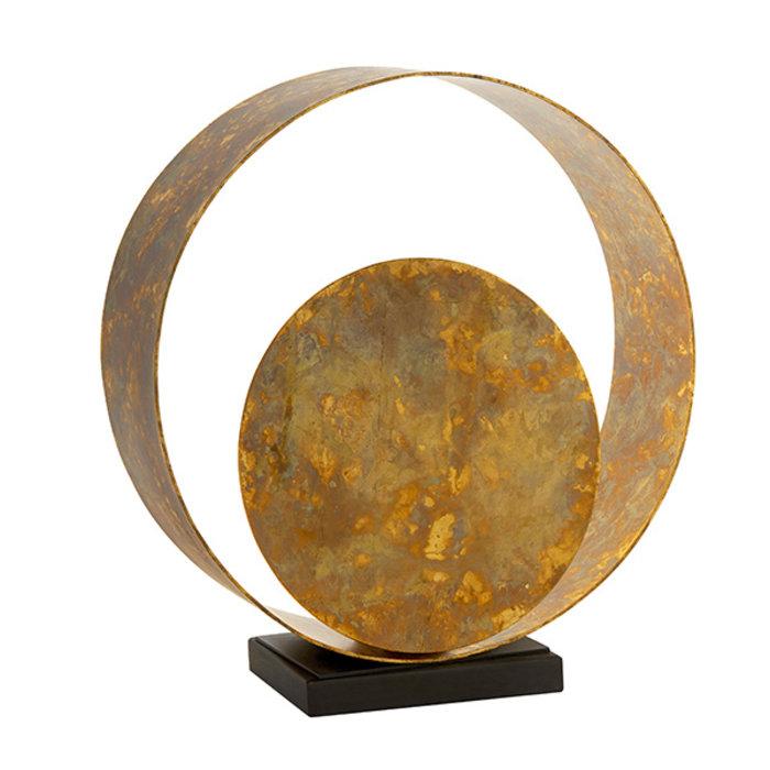 Ripon - Dappled Copper Patina Table Lamp