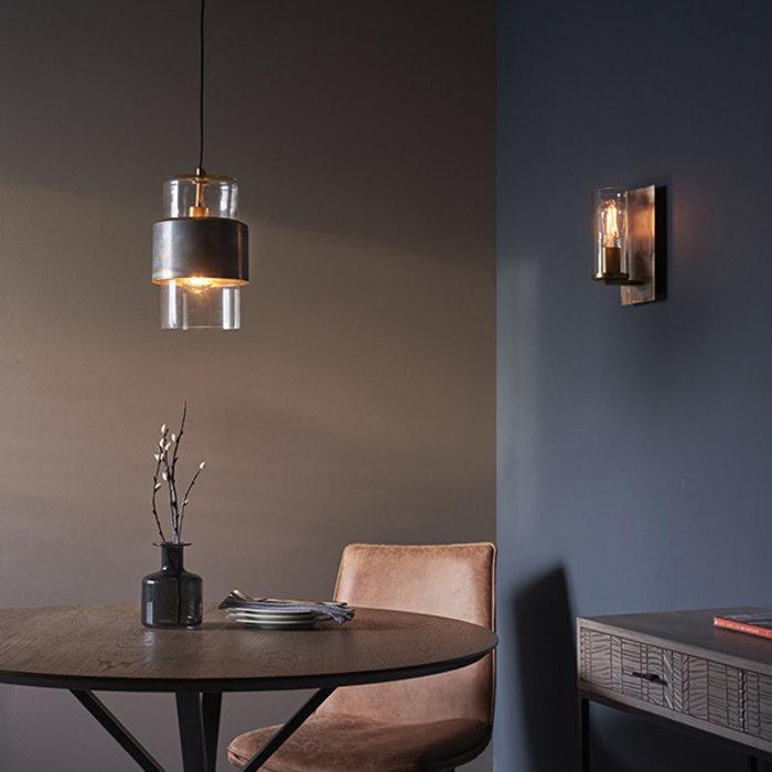 Malton - Luxury Industrial Wall Light - Bronze Patina