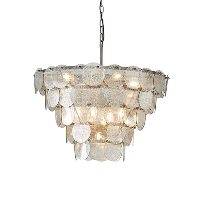 Thornton - Luxury Mercury Glass Tiered Feature Light