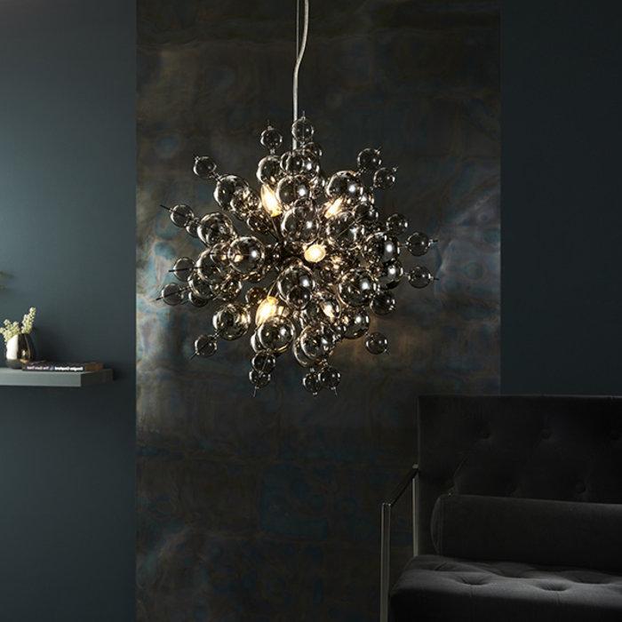 Holbeck -  Starburst Black Chrome Feature Light w