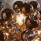 Holbeck - Starburst Copper Feature light  with Tinted Glass Spheres