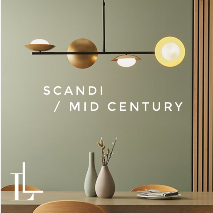 Mid Century & Scandi Collection - LL