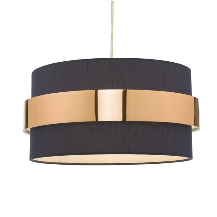 Sash - Modern Navy & Copper Easy Fit Shade