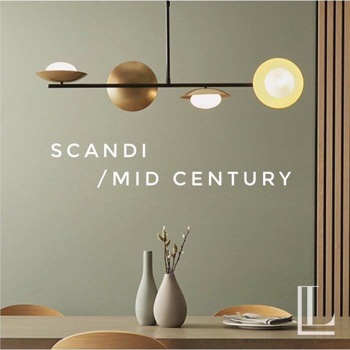 Mid Century & Scandi Collection - LL