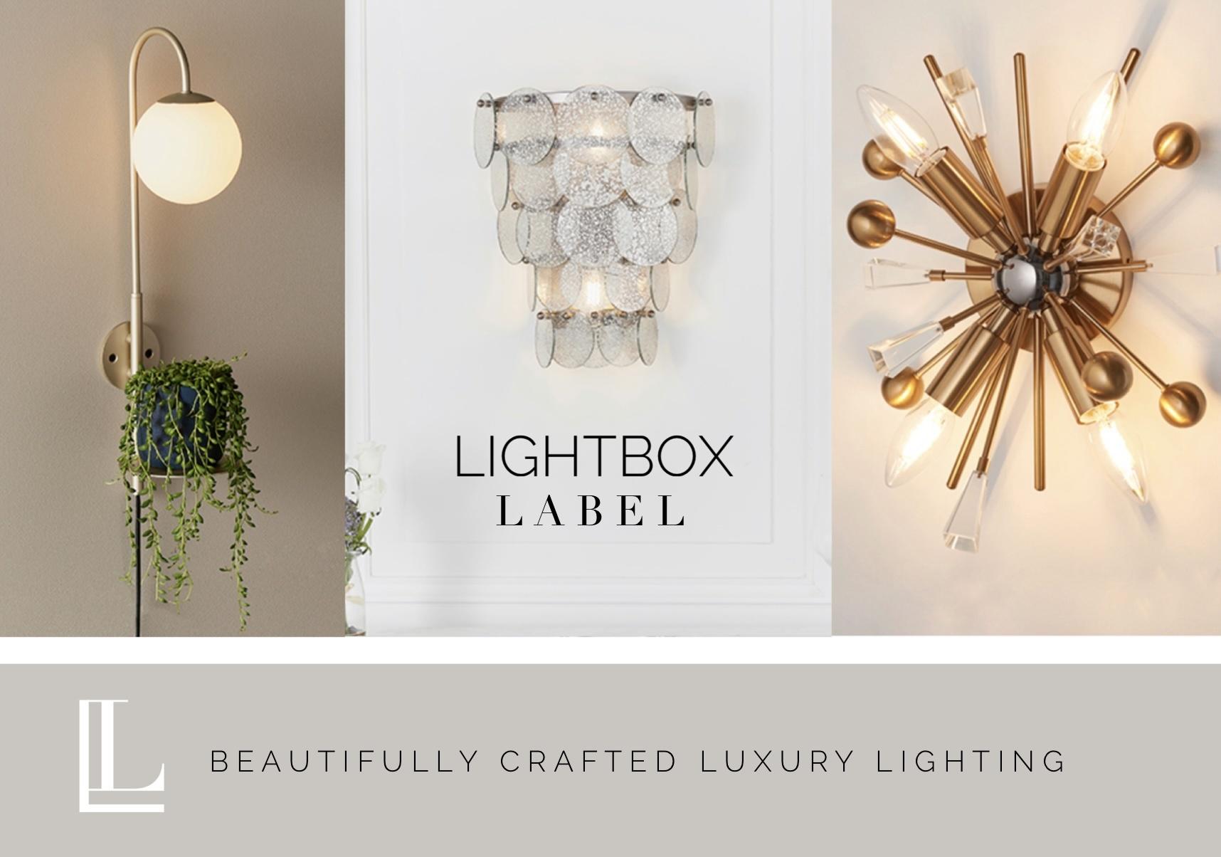 Stylish wall lights