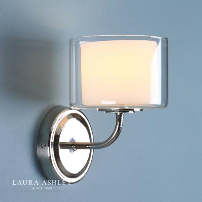 Southwell - Modern Double Layered Glass Wall Light - Laura Ashley