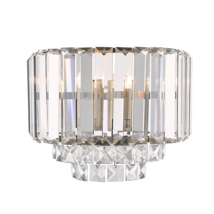 Vienna - Classic Crystal Wall Light - Antique Brass - Laura Ashley