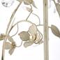 Leaf - Ornate Flower Double Wall Light - Cream & Gold