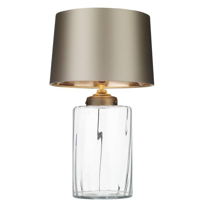 Kew Clear Glass Vase Table Lamp - David Hunt