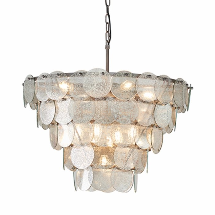 Thornton - Luxury Mercury Glass Tiered Feature Light