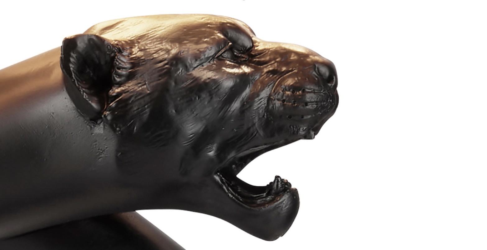 David Hunt Panther Table Lamp